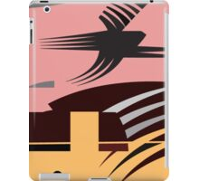 Rush Hour - Calm in the Cityscape Design by Jenny Meehan iPad Case/Skin