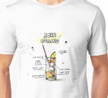 Cocktail - John Collins Recipe Unisex T-Shirt