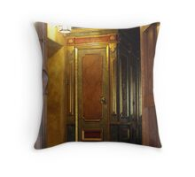 Luxurious Confessions Throw Pillow