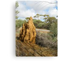 Consider the Ant Canvas Print