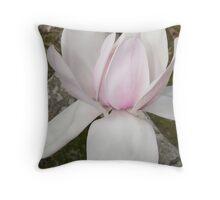 """Magnolia of Mt Lofty"" Throw Pillow"