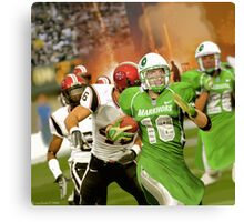 In 2038 The Pakistani Markhors Enter the NFL With Greatness Canvas Print