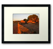 The Old Gwalia Church, Northampton, Western Australia Framed Print