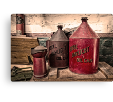 Royal Daylight Cans  Canvas Print
