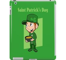 Saint Patrick's Day cartoon iPad Case/Skin