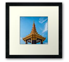 Cambodian Architecture Framed Print