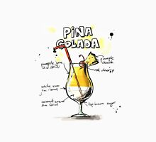 Cocktail - Pina Colada Recipe Unisex T-Shirt