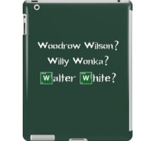 triple W iPad Case/Skin