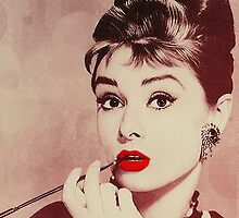 Audrey Hepburn, Breakfast at Tiffany's  by LisaTphoto