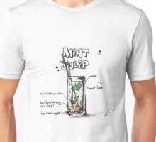 Cocktail - Mint Julep Recipe Unisex T-Shirt