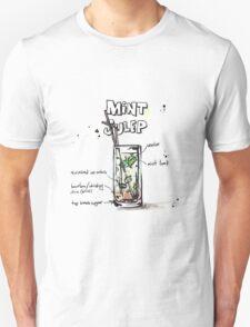 Cocktail - Mint Julep Recipe T-Shirt