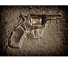 The gun Photographic Print