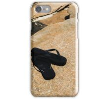 Thongs on the Rock iPhone Case/Skin