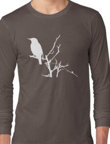 Little Birdy - White Long Sleeve T-Shirt