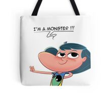 Cartoon Girl - Monster Day - Harmony Tote Bag