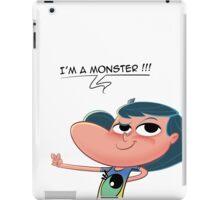 Cartoon Girl - Monster Day - Harmony iPad Case/Skin