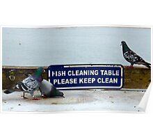 Keep Clean Poster