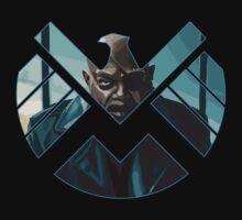 Nick Fury by rasgadow