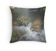 Boiling Rapids  Throw Pillow