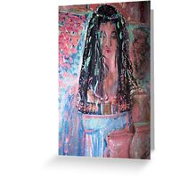 Queen In Solomans Temple Greeting Card
