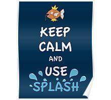 Splash Poster