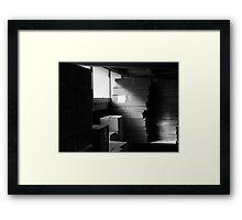 A play on Light II Framed Print