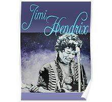 Jimi Hendrix ink portrait Poster