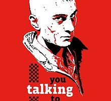 Travis Bickle - Taxi Driver by Gait44