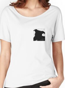 Staffy Dog Head Women's Relaxed Fit T-Shirt