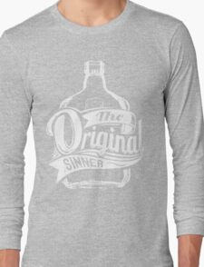 Quote - The Original Sinner Long Sleeve T-Shirt