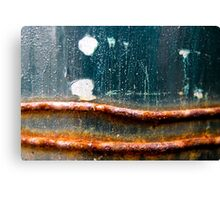 Rust never sleeps - Dots and Lines Canvas Print