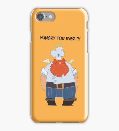 CHEF COOK ANGEL Cartoon iPhone Case/Skin