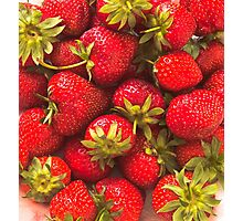 Strawberry Forever Photographic Print