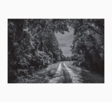 On A Country Road: IR T-Shirt
