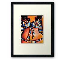 South Pacific Framed Print