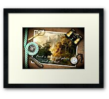 Find a beautiful place and get lost...Rivendell Framed Print