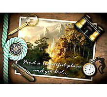 Find a beautiful place and get lost...Rivendell Photographic Print