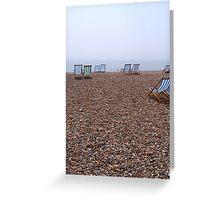 """""""Brighton Beach"""" Greeting Card"""