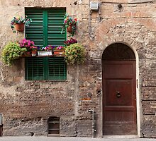 Tuscan Door by Julian Elliott