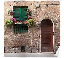 Tuscan Door Poster