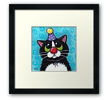 Not Funny Framed Print