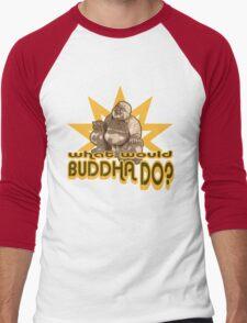 Buddha t-shirt Men's Baseball ¾ T-Shirt