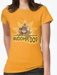 Buddha t-shirt Womens Fitted T-Shirt