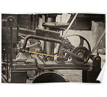 Mechanical Hacksaw  Poster