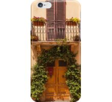 Doorway to Pienza iPhone Case/Skin