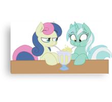 Lyra and Bon Bon Canvas Print