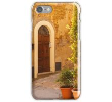Pienza Doorway iPhone Case/Skin