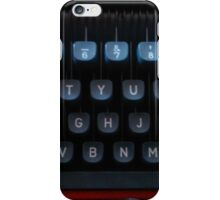 typewriter part 2 iPhone Case/Skin