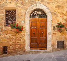 Tuscan Doorway by Julian Elliott