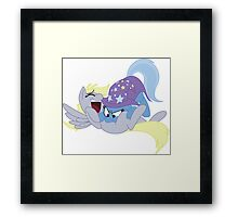 Tickling Trixie Framed Print